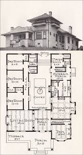 mission style home plans california mission style house 1918 house plan by e w stillwell