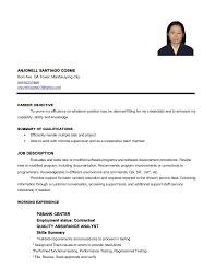 Crew Member Job Description For Resume by Cosme Anjonell S Resume