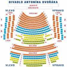 National Theatre Floor Plan National Theatre Opera In Ostrava