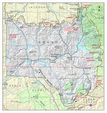 Map Of Counties In Colorado by Grand County Colorado Geological Survey