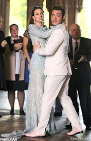 blair wedding dress spotted blair waldorf is a blushing take two in elie