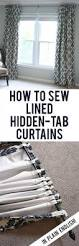 How To Make Your Own Kitchen Curtains by Make Thermal Lined Curtains Finally A Tutorial With Some