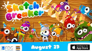 sketch breaker by fdg mobile games gbr ios android gameplay