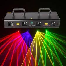 laser lights 460mw green purple yellow 4 beams laser light 7ch dmx dj stage
