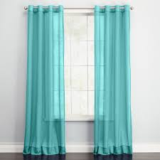 Torquoise Curtains Living Room Turquoise Striped Curtains Door Window Curtains