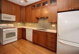 Modern Kitchen With White Appliances Kitchen White Kitchen Cabinets With Liances Designs For