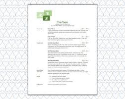 Minimalist Resume Minimalist Resume Etsy
