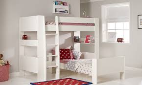 Solitaire White Lshaped Bunk Bed - Kids l shaped bunk beds