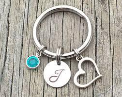 unique key ring keychain etsy