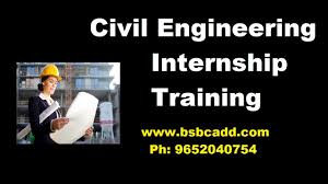 civil engineering internship training in hyderabad with jobs bsb
