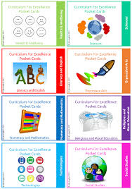 pocket cards curriculum for excellence pocket cards mindingkids