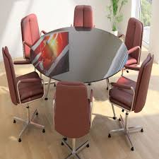 Glass Boardroom Tables Sven Eclipse Tables Chrystal U0026 Hill Ltd