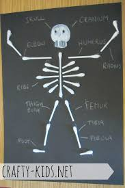 Skeleton Halloween Crafts The 25 Best Skeleton Craft Ideas On Pinterest Dino Craft