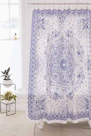 blue bathroom décor shower accessories urban outfitters