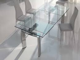 Contemporary Glass Dining Room Tables by Beautiful Contemporary Glass Dining Room Sets Gallery Home