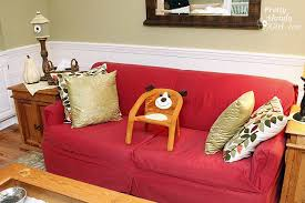 how to slipcover a couch beautifully pretty handy