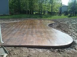 Concrete Patio Designs Layouts Simple Concrete Patio Design Ideas Garden Treasure Patio Patio