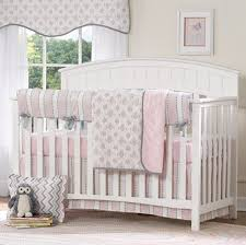 Pink And Gray Crib Bedding Sets 159 Best Pink And Gray Nursery Images On Pinterest Baby