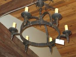 discount new spider chandelier vintage wrought iron pendant lamp