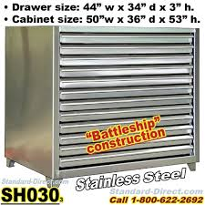 Flat File Cabinet Duty Stainless Steel Flat File Cabinets Sh030 Extreme Duty