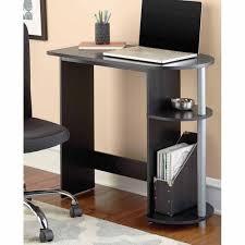 Mainstays Student Desk Instructions Mainstays Computer Desk Black Walmart Com