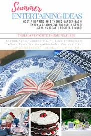 Hosting A Cocktail Party by Summer Party Ideas Inspiring Table Setting Ideas