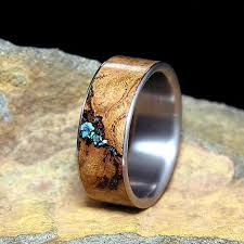 wood mens wedding bands 36 unconventional wedding rings for men neatorama