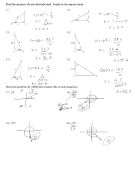 finding sides trigonometry in right angled triangles sohcahtoa