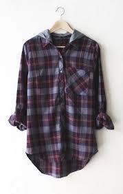Flannel Shirts Hooded Plaid Flannel Shirt Plaid Flannel Flannel Shirts And