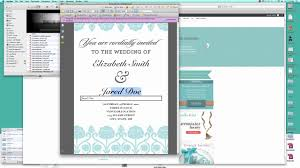 make your own wedding invitations free online paperinvite