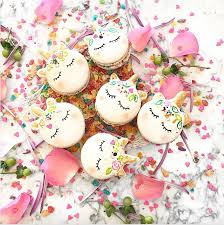 these unicorn macarons are our new favorite food trend teen vogue