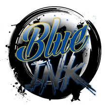 blue ink tattoos blue ink tattoo twitter