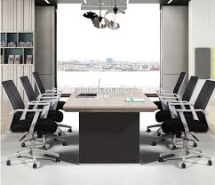8 seater wooden conference table meeting table for office with