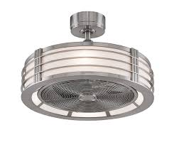 fanimation beckwith 13 inch brushed nickel with frosted shade