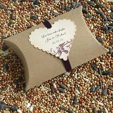 bird seed wedding favors 11 best wedding favors pew markers images on pew
