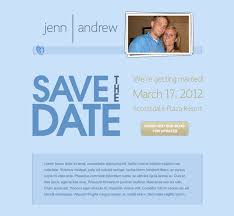 save the date emails jenn andrew s save the date email snoack studios