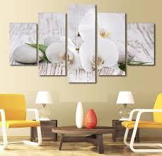 art home decor 98 canvas prints home decor 5 pieces canvas prints white orchid
