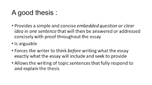 weak thesis statement thesis and introduction review a good thesis provides a simple 2 a