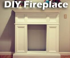 diy faux fireplace with hidden storage 12 steps with pictures