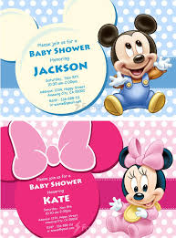 mickey mouse baby shower invitations mickey mouse baby shower invitations baby shower invitations