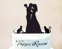 cat wedding cake topper as you wish cake topper princess wedding cake topper