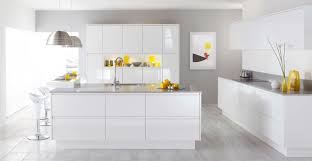 White Laminate Wood Flooring Kitchen Best White Kitchen Design With Textured Wood Floor And