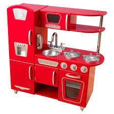 Red Kitchen Pics - kitchen sets play kitchen sets u0026 accessories you u0027ll love wayfair