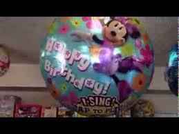 singing birthday balloons happy birthday singing balloons