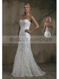 robe de mari e simple dentelle robe de mariée ivoire simple longue gaine col en coeur dentelle