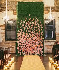 wedding unique backdrop 48 ideias criativas de backdrops e éis flores para o
