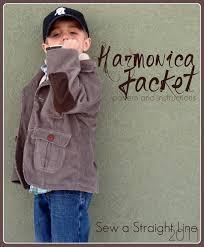 cute jacket pattern harmonica jacket free pdf pattern for boys blazer in size 4 5
