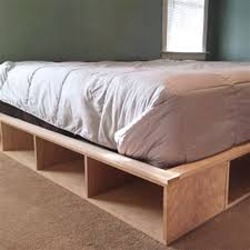 Futon Platform Bed Frame Building Diy Platform Bed Raindance Bed Designs