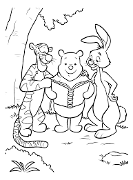 coloring page winnie the pooh coloring pages 22