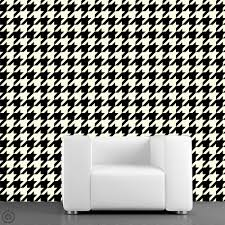 Self Stick Wallpaper by Removable Wallpaper Houndstooth Peel U0026 Stick Self Adhesive
